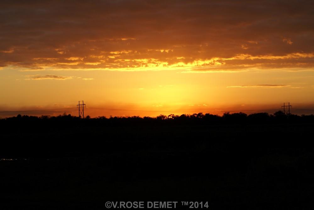 My Photo: Another Beautiful Sunset (3/5)